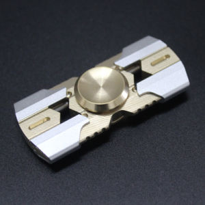 2 Blade Alunimium Alloy Hand Fidget Spinner pictures & photos