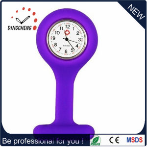 Promotion Silicone Pocket Analog Watch for Nurse Doctor (DC-1144) pictures & photos
