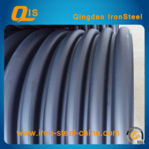 Steel Belt Reinforced HDPE spiral Bellows Pipe pictures & photos