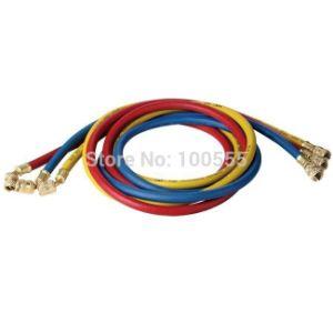 "1/4""SAE 90cm 500-2500psi Standard Colored Refrigerant Freon Charging Hose Pr3617 pictures & photos"