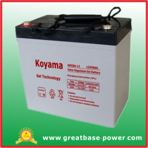 50ah 12V Gel Storage Battery pictures & photos