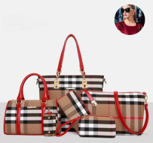 2016 Hotselling China Wholesale Women Handbag PU Leather Bag
