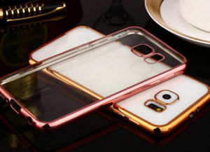 Electroplating Mobile Phone TPU Case for Samsung A310 pictures & photos