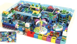 Kids Amusement Park Commercial Indoor Playground Jungle Gym for Kids pictures & photos
