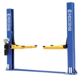 2 Post 2 Cylinder Hydraulic Car Lift pictures & photos
