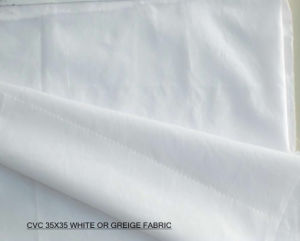 CVC (CWC) Fabric Yarn: 35X35s Density: 82X50/96X56/100X70 pictures & photos