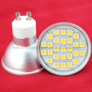 Halogen Replacement Bulb LED 27 SMD5050 GU10 230V Warm White pictures & photos
