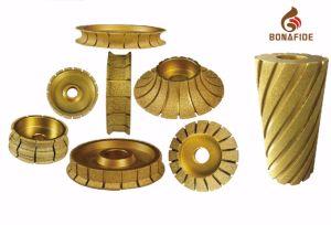 Diamond Profiling Wheel with Vacuum Brazed Tech. pictures & photos