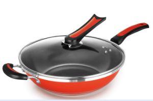 Non-Stick Aluminum Wok Cookware (QW-KS001) pictures & photos