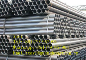ASTM A570, JIS Sm490, DIN St-50, St-52, Gbq345 Low Alloy Steel Round Pipe pictures & photos