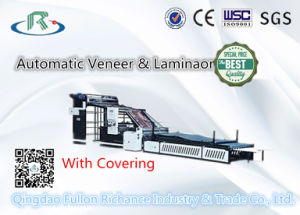 Low Price Automatic Corrugated Paper Cold Veneer & Laminaor (with Covering) pictures & photos