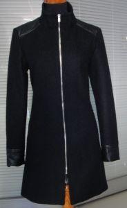Latest Design Elegant Wool Ladies Winter Coat pictures & photos