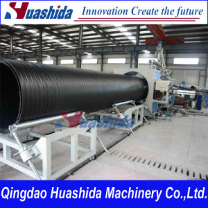 HDPE Hollow Wall Spiral Pipe Extrusion Line Plastic Extruder pictures & photos