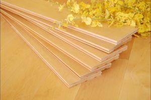 Solid Maple Hardwood Parquet / Wood Flooring pictures & photos
