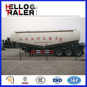 Heavy Duty Bulk Silo Tanker Trailer with Compressor pictures & photos