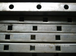 Punched Galvanized Steel Pipe for Fence Rail