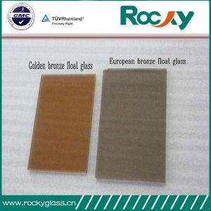 Rocky Factory 4mm-6mm Golden Bronze Float Glass pictures & photos