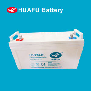 12V Deep Cycle Gel Battery 12V120ah for Solar Power System pictures & photos