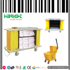 Hotel Cleaning Janitor Housekeeping Cart pictures & photos
