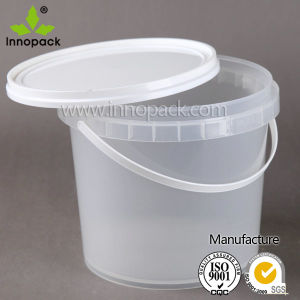 15L Transparent Round Plastic Pail/ Bucket for Paint pictures & photos
