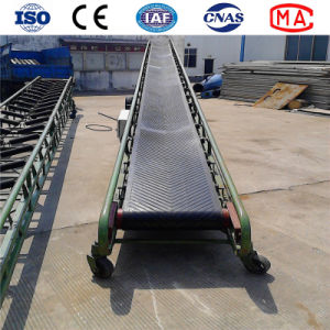 Factory Rubber Movable Environmental Belt Conveyor Price with ISO Ce pictures & photos