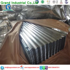 Trapezoidal PPGI/Gi Aluzinc Corrugated Galvanized   Roof  Sheeting  Prices for Africa Market 5 pictures & photos