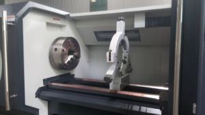Precision Metal Machining Horizontal CNC Lathe (CK6140) pictures & photos