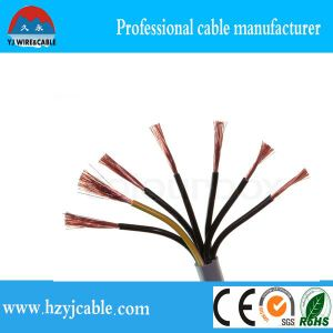Control Cable 12*0.5mm 12*0.75mm 12*1mm Copper Cable Shielded Control Cable Specification Flexible Control Cable pictures & photos