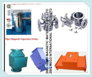 Pipeline Permanent Magnetic Separator for Cement, Chemical, Building Materials -2 pictures & photos