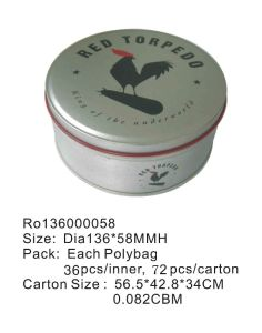Round Gift Gift Tin Packing Box with Cheaper Price pictures & photos