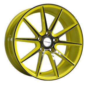 Thin Spokes Painted Inner Groove Alloy Wheel UFO-370 pictures & photos