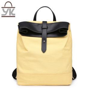 Practical Unisex Contrast Color Designer Handbag Canvas Backpack pictures & photos