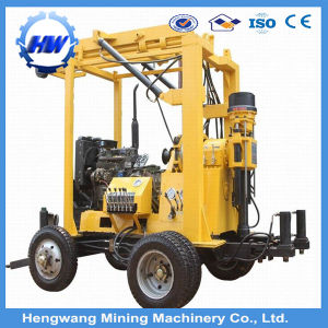 Tralier Type Portable Water Bore Well Drilling Machine (HWGK-230) pictures & photos