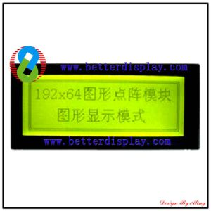 LCM LCD Screen Stn Green Negative LCD Module Stn 192*64 pictures & photos