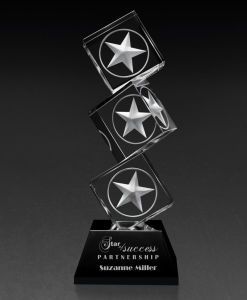 Climbing Star Crystal Trophy (CT-552) pictures & photos