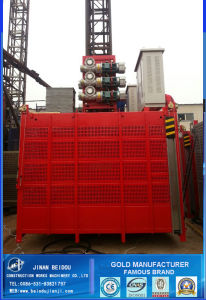 Sell Well CE ISO Confirmed Sc200/200 Construction Passenger and Materials Hoist / Elevator / Lift /Building Hoist/Platform pictures & photos