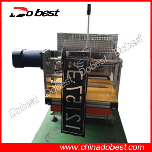 Heat Transfer Machine for Car Number Plate pictures & photos