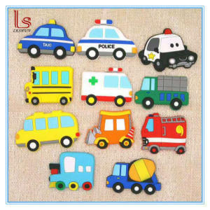 Car Shape Rubberized 3D Soft PVC Custom Cheap Refrigerator Magnet pictures & photos