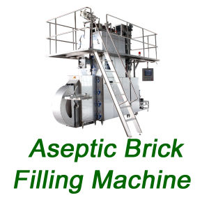Sxb-3000A Carton Milk Juice Wine Filling Machinery Aseptic Brick Filling Machine pictures & photos