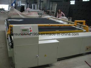 Straight Line Glass Cutting Machine, Float Clear Glass Cutting Table pictures & photos