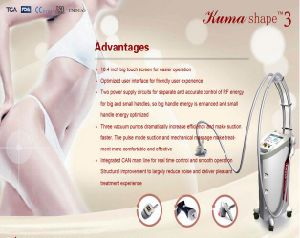 Sincoheren Kuma Shape II Slimming Equipment Approve Ce and FDA pictures & photos