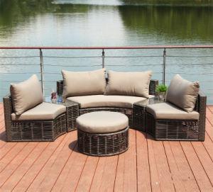 2017 Circular Outdoor Sofa Garden Sofa Wicker Furniture Rattan Sofa Outdoor Furniture S210 pictures & photos