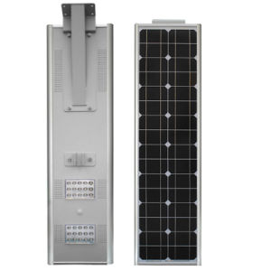 Easy Installation 30W All in One Integrated Solar Street Lights with Battery Backup pictures & photos