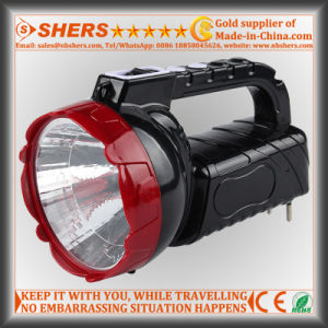 Rechargeable 1W LED Torch with 16 LED Desk Light (SH-1953A) pictures & photos