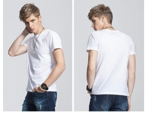 OEM Cheap Sale Plain 100% Cotton T Shirt pictures & photos
