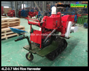 Mini Grain Harvester for Rice and Wheat pictures & photos