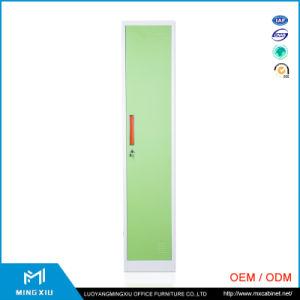 Luoyang Mingxiu Low Price Single Door Metal Sports Locker / 1 Tier Steel Locker pictures & photos