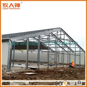 Light Steel Prefab Chicken Shed with Design and Matching Farming Equipment pictures & photos