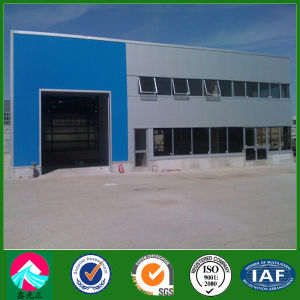 Structural Steel Fabrication Workshop Building to Roumania (XGZ-SSB157) pictures & photos