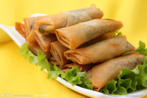IQF Frozen Tsing Tao Vegetable Frozen 25g/Piece Spring Rolls pictures & photos